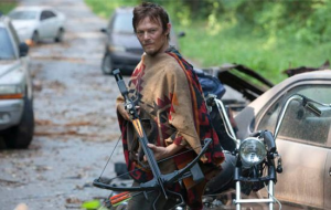Daryl and his trusty crossbow