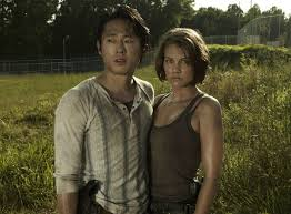 walking dead maggie and glenn